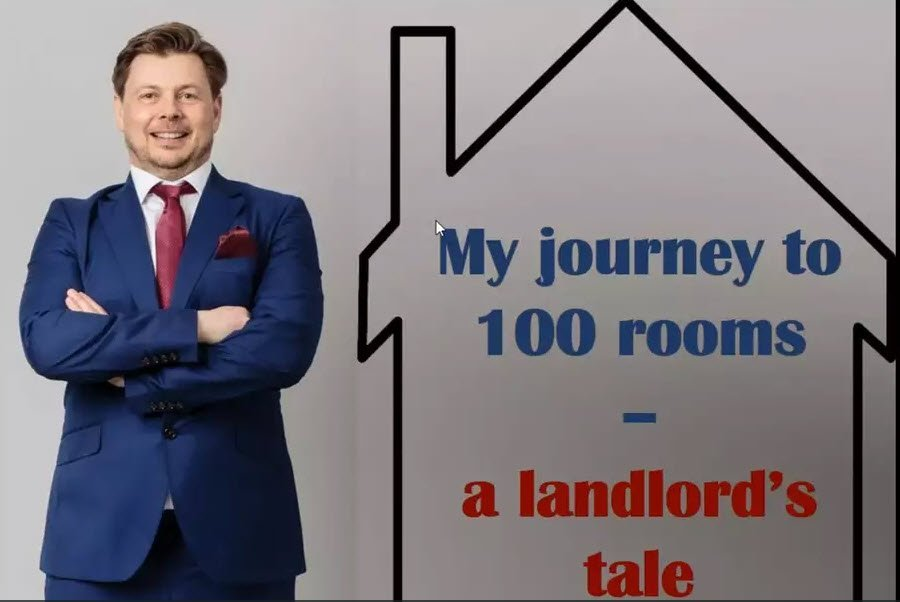 My journey to 100 rooms – a Landlord's tale